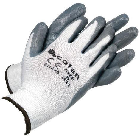 Guantes Soporte de Nylon Impregnados (100% Nylon)