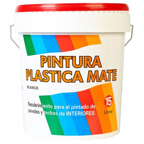 Pintura Plástica Blanca Mate - 20 KG - NEOFERR