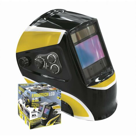 Casque de soudure LCD Ergotech 5-9/9-13 G Black GYS - 45477