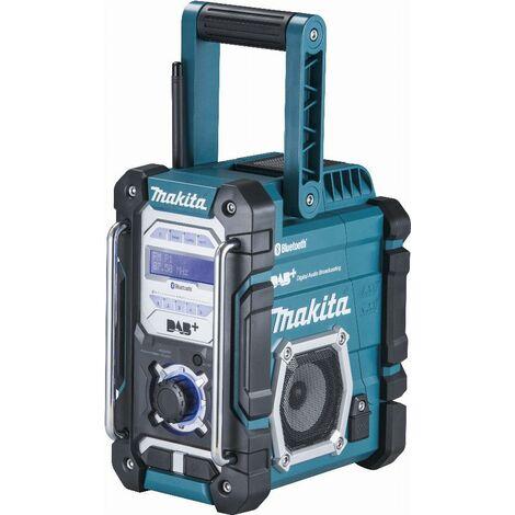 Makita DMR112 - Radio de chantier Li-Ion 7.2-18V - DAB+Bluetooth - fonctionne sur secteur et sur batterie