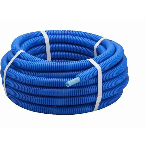 Tube PER gainé bleu NOYON & THIEBAULT - Ø 16 - L 15 m - B1816-15
