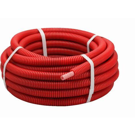 Tube PER gainé rouge NOYON & THIEBAULT - Ø 16 - L 15 m - R1816-15