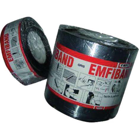 Bande d'étanchéité Emfiband EMFI - 15cm x 10m - couleur brique - GA150CE001