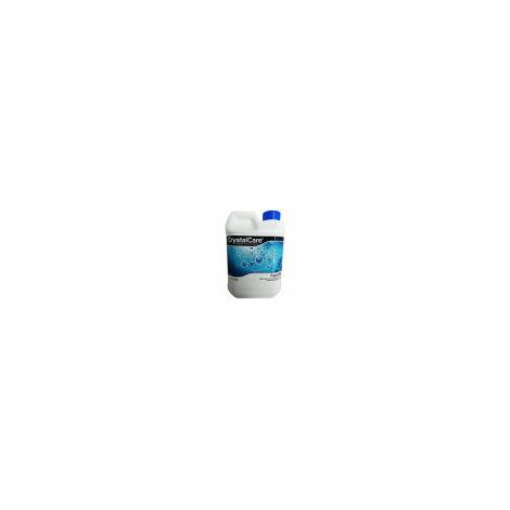 Algicida CrystalCare previene y elimina algas en piscinas, fuentes públicas, SPAS, Jacuzzis... Antialgas botella 2 Lt.