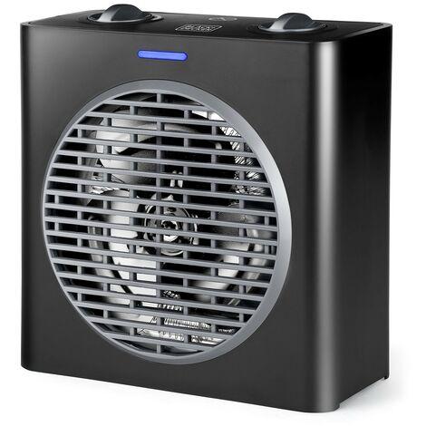 BLACK+DECKER BXSH2003E - Calefactor compacto 2000W potencia regulable