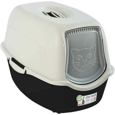 Rotho Mypet - Maison de Toilettes Eco Bailey pour Chat