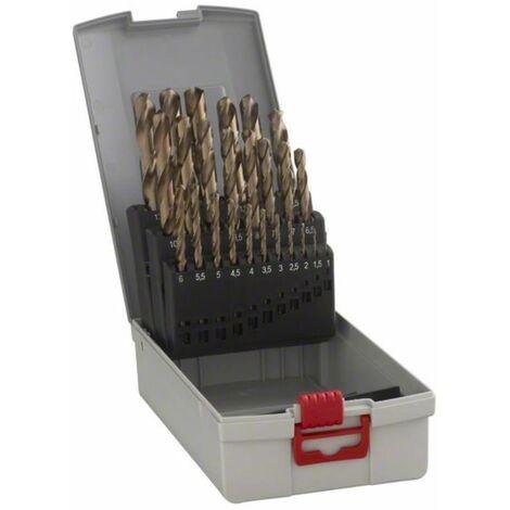 Metallbohrer-Set HSS-Co (Cobalt-Legierung). ProBox