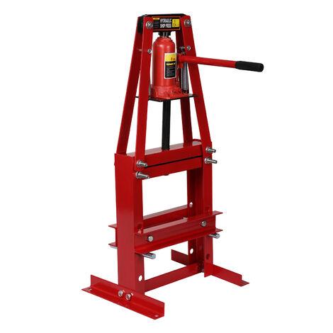 Pressa idraulica da officina 6 t telaio ad A 50-110 mm cilindro idraulico