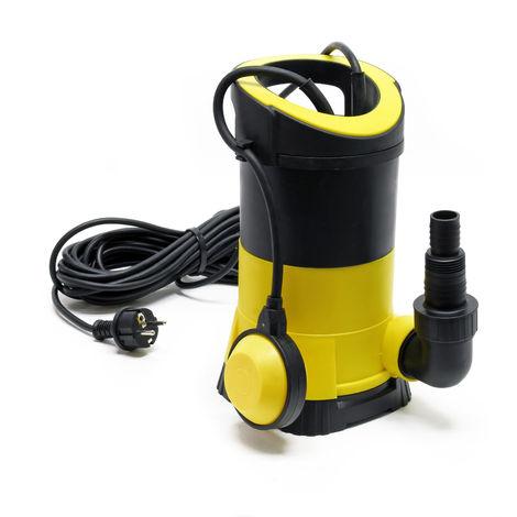 Pompa per acque reflue con portata di 5000l/h 250W altezza di mandata di 6m particelle fino a Ø5mm
