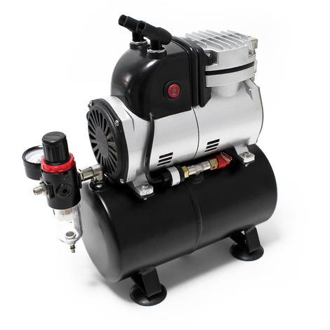 Compressore per aerografo AF189 Serbatoio aria Separatore acqua Riduttore di pressione Manometro
