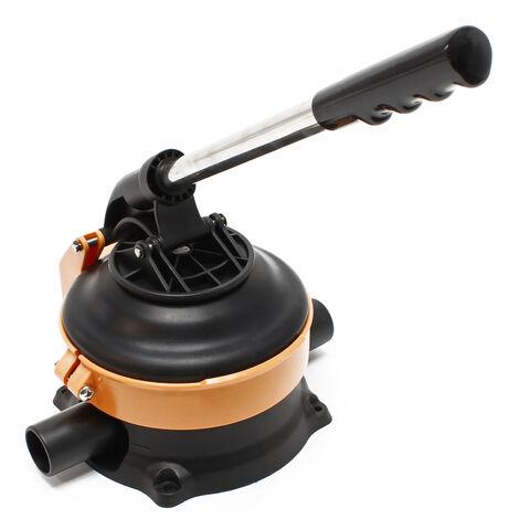 Pompa manuale per acqua con leva in acciaio inossidabile max. 20l/min