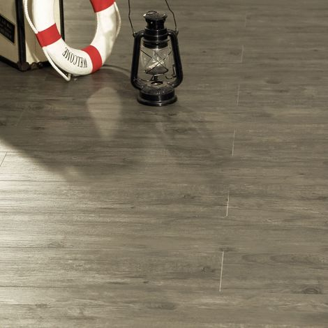 Linea LVT Vinyl Click Floor Panelling - Grey Oak