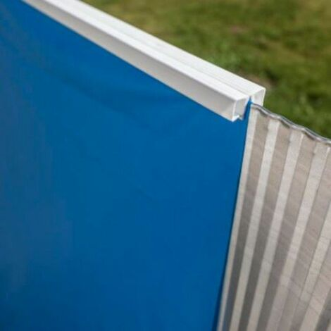 Liner azzurro Gre per piscina rotonda 350xh90 cm