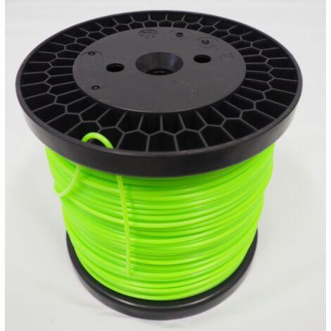 Bobine de fil professionnel pour débroussailleuse Rond 3 mm - Super résistance d'origine Bazargiusto