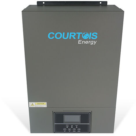 Onduleur Hybride 5.5KVA V PLUS Haute Tension - 48V MPPT 100A - ECOWATT