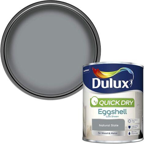 Dulux Quick Drying Eggshell 750ml Natural Slate