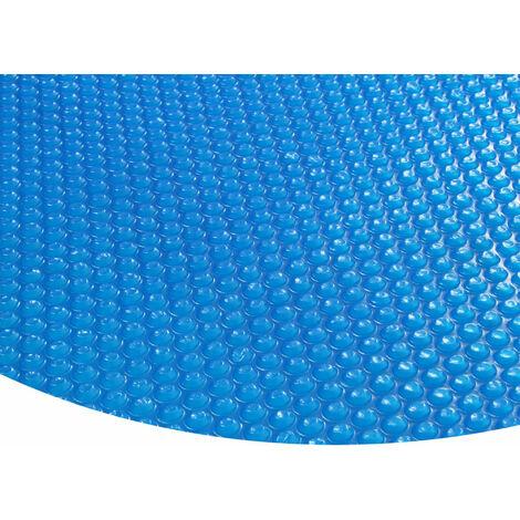 Zelsius blaue Pool Solarfolie rund 3,6 Meter Durchmesser 400µ