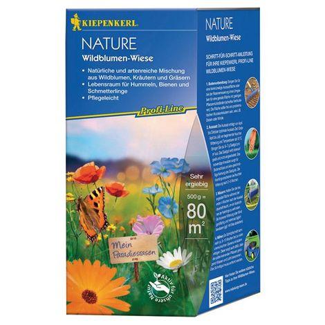 Mezcla natural y diversifica de flores salvajes, 0,5 kg Profi-Line naturaleza