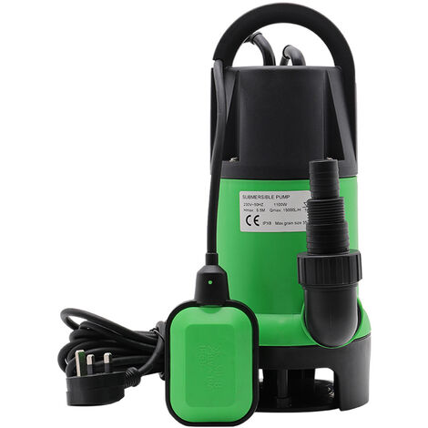 1100W Electric Dirty Water Submersible Pump For Pool Pond Flood