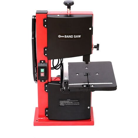 """350W 230V Bandsaw Professional + Saw Band 9"""" 200mm Bench Top Woodworking Cutting"""