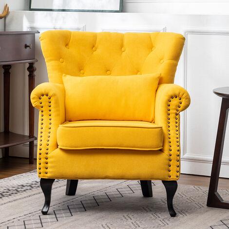 Chesterfield Tub Chair Armchair With Cushion