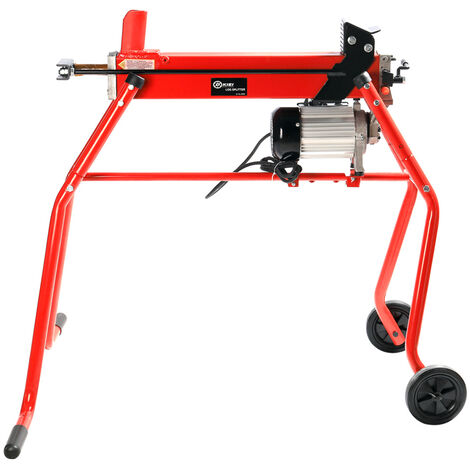 Heavy Duty 6 Ton Electric Log Splitter with Trolley Stand