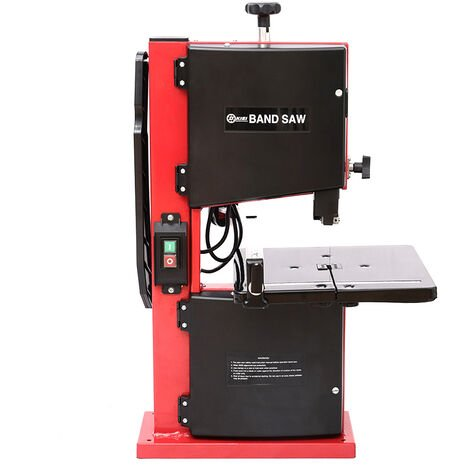 """8"""" Band Saw Cast Table Blade 80mm Cutting Height Electric Bench Top Bandsaw 230V"""
