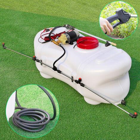 Garden Farm Electric ATV Sprayer Agricultural Broadcast Quad Tractor Hand Lance