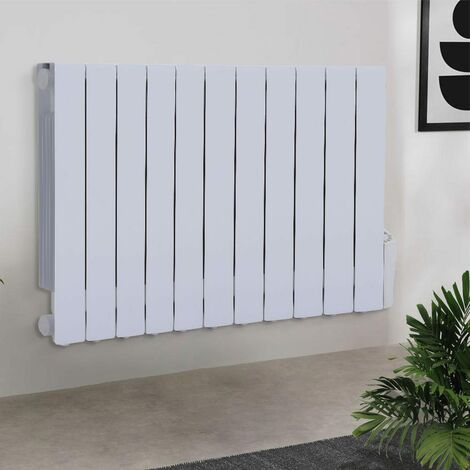 1800W Electric Oil Filled Radiator Heater With LED 24 Hour Timer