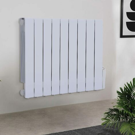 1500W Electric Oil Filled Radiator Heater With LED 24 Hour Timer