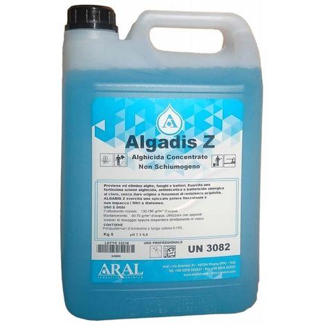 Antialghe Schiarente Concentrato Algadis Z 5 Kg Prodotto Italiano