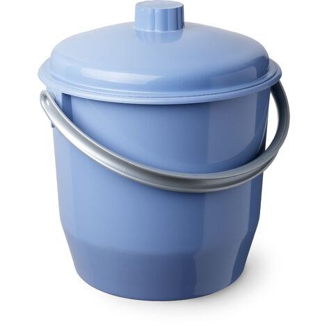Tatay 1102700 ? Cubo con Tapa (plástico, 35 x 33 x 36 cm) Color Azul