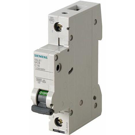 SIEMENS Ingenuity for life - 5SL6125-7 - Interruptor magnetotérmico 1P 25A