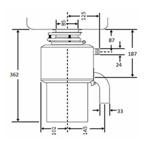 Triturador de desperdicios LC 50