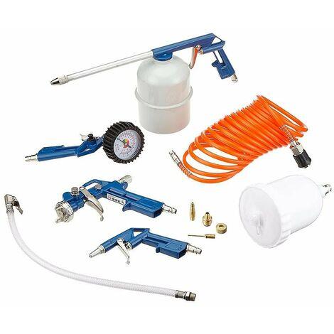 Scheppach - Kit de 8 accessoires pour compresseur