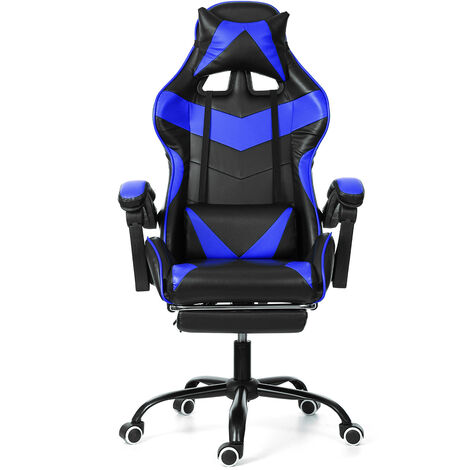 Chaise Fauteuil De Bureau Gaming Gamer Pivotant Racing Inclinable 150 °