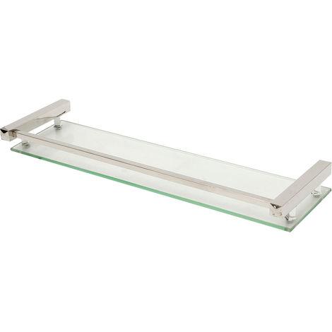 Wall Stainless steel glass shelf Support Storage Bathroom Shower Storage
