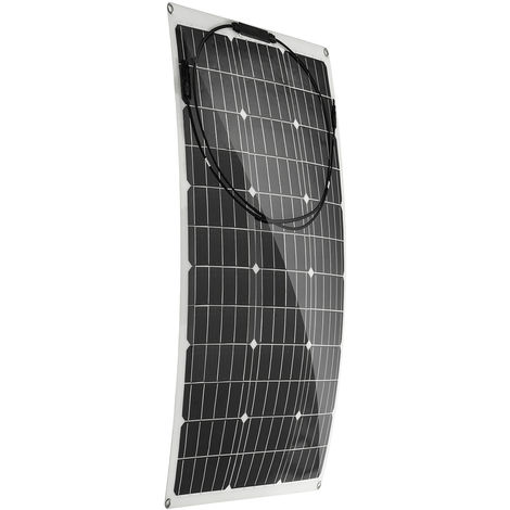 100W 18V Flexible Monocrystalline Solar Panel for Camping Car Boat