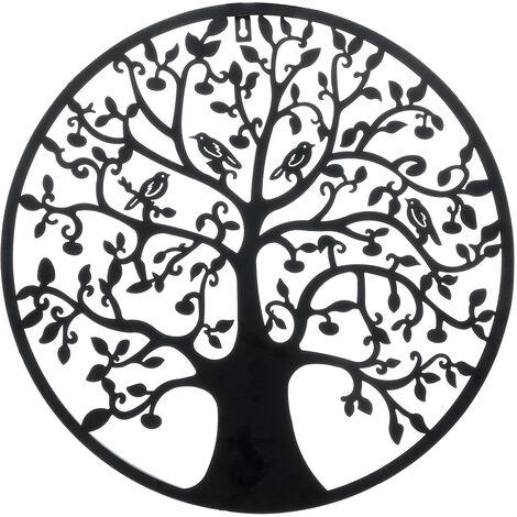 51cm Tree of Life Round Wall Art Decoration