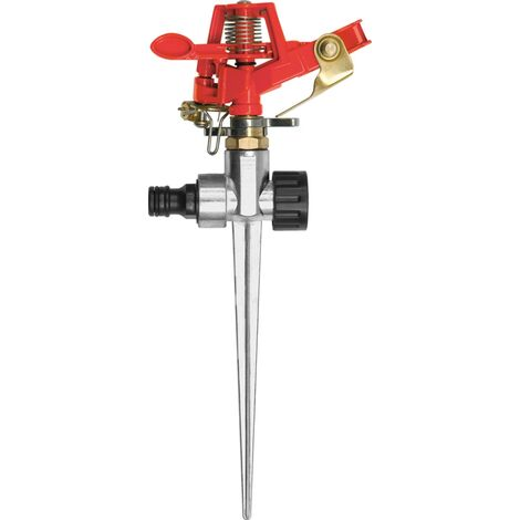 Yato garden impulse sprinkler zinc alloy spike 6 patterns 24 m range (YT-8986)