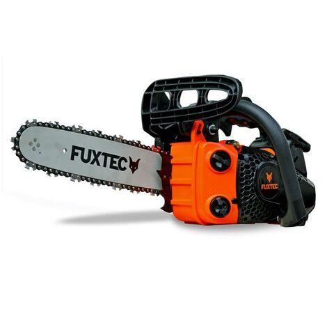Petrol tree care saw / chainsaw 25.4cc cutting length 22/26cm FUXTEC KS126