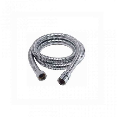 Flessibile per collegamento colonna doccia miscelatore cromato lungh 80 cm remer