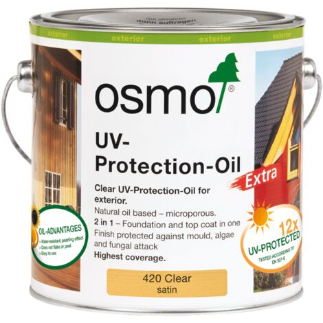 Osmo UV Protection Oil Extra (420) Clear 2.5L
