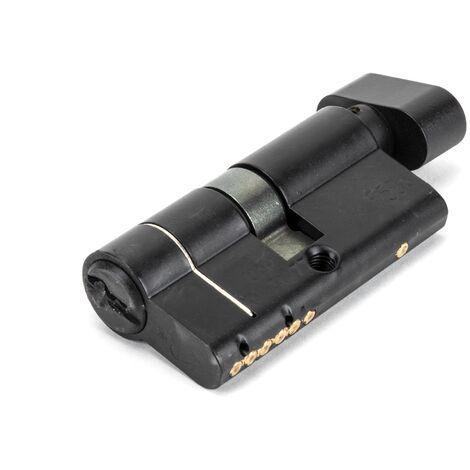 Black 30/30 6pin Euro Cylinder/Thumbturn