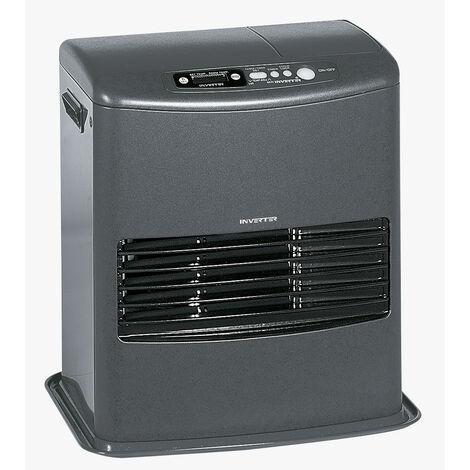 INVERTER 6008 - 4000 watts Poele a pétrole électronique - Fonction ECO - Programmation 24H - Détecteur de CO2 - Sécurité Enf…