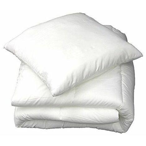 Oreiller confort - 60 x 60 cm - polyester - Livraison gratuite