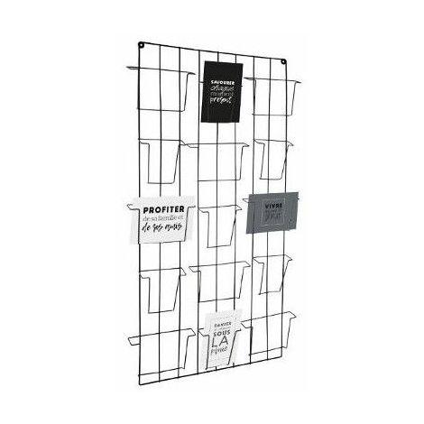 Porte photos mémo filaire Design - 15 Photos - Noir - Noir