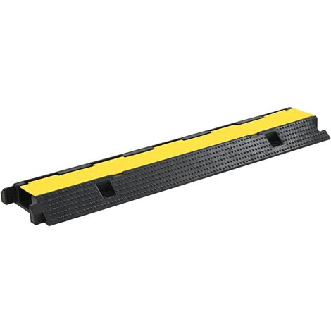 Cable Protector Ramp 1 Channel Rubber 100 cm
