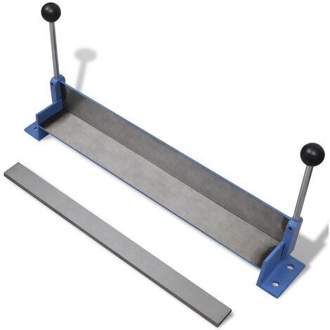 Manually Operated Steel Plate Folding Machine 450 mm