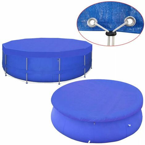 Pool Cover PE Round 460 cm 90 g/m²